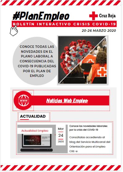 Actuación Cruz Roja contra COVID-19