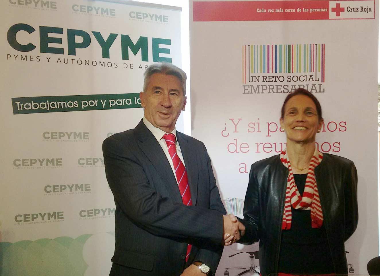 CEPYME y Cruz Roja Zaragoza suman esfuerzos para crear mercados inclusivos