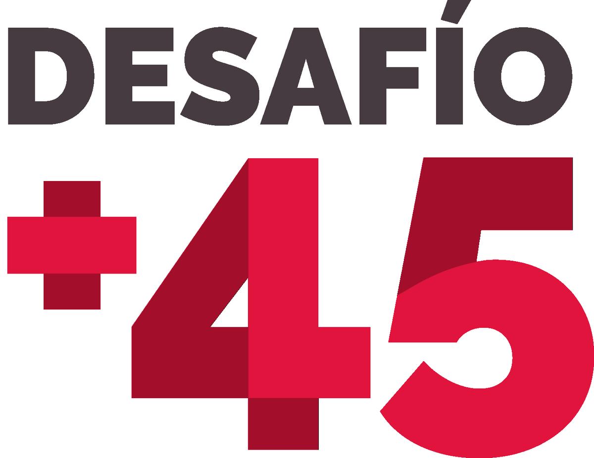 Desafío + 45. una acción participativa de Cruz Roja.