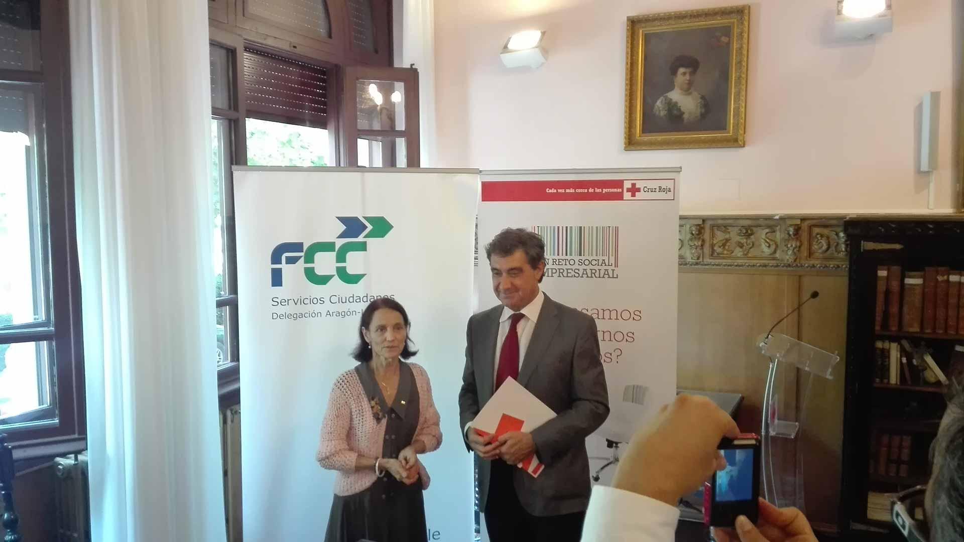 FCC y Cruz Roja Zaragoza suman esfuerzos en la inserción laboral y de personas en riesgo de exclusión social