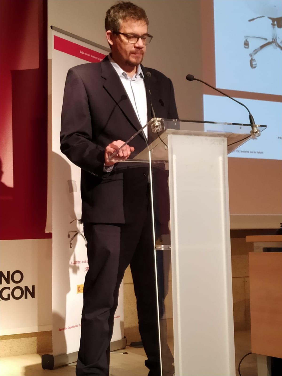 «Cruz Roja es un aliado fiable», Raúl Camarón, director gerente del INAEM.